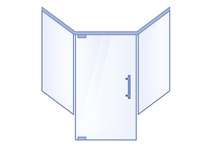 Neo-Angle Hinged Door with Double Buttress